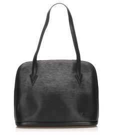 Louis Vuitton-Louis Vuitton Black Epi Lussac-Black