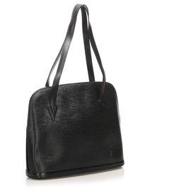 Louis Vuitton-Louis Vuitton Black Epi Lussac-Noir