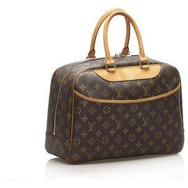 Louis Vuitton-Louis Vuitton Monogramme Marron Deauville-Marron