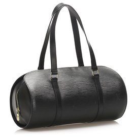 Louis Vuitton-Soufflot Noir Epi Louis Vuitton-Noir