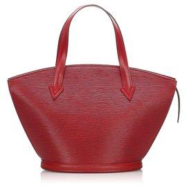 Louis Vuitton-Louis Vuitton Strap Court Epi Saint Jacques PM Rouge-Rouge