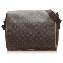 Louis Vuitton-Abbesses Louis Vuitton Monogram Brown-Marron