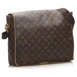 Louis Vuitton-Louis Vuitton Brown Monogram Abbesses-Brown