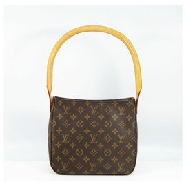 Louis Vuitton-LOUIS VUITTON Loopin G MM Womens shoulder bag M51146-Other