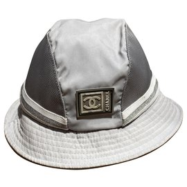 Chanel-Hats-Grey