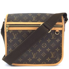 Louis Vuitton-Toile Monogram Bosphore Messenger Louis Vuitton-Marron