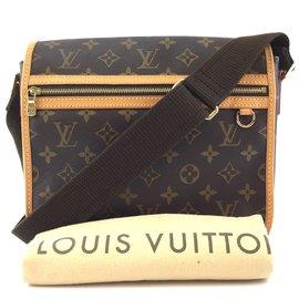 Louis Vuitton-Louis Vuitton Messenger Bosphore Monogram Canvas-Brown