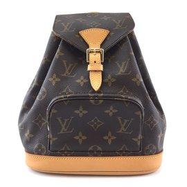 Louis Vuitton-Toile Monogram Louis Vuitton Montsouris PM-Marron