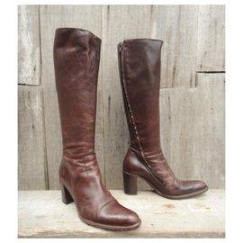Free Lance-Free Lance p boots 38-Dark brown
