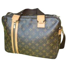 Louis Vuitton-Louis Vuitton briefcase-Dark brown
