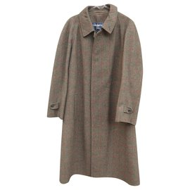 Burberry-Burberry men's coat 52-Brown