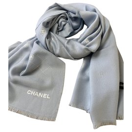 Chanel-Chanel light blue stole-Other