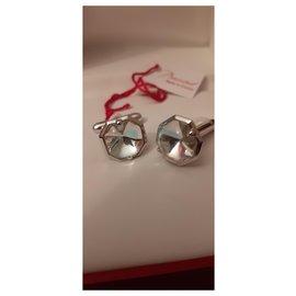 Baccarat-Cufflinks-Silver hardware