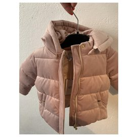 Tartine et Chocolat-Girl Coats outerwear-Pink