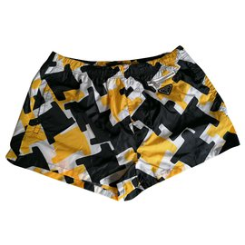 Prada-Houndstooth-Black,Yellow
