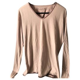 Zadig & Voltaire-Zadig & Voltaire pink bohemian Tee-shirt-Pink