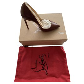 Christian Louboutin-So kate 120-Dark brown