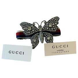 Gucci-Butterfly crystal bracelet-Other