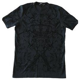 Dolce & Gabbana-Tees-Black