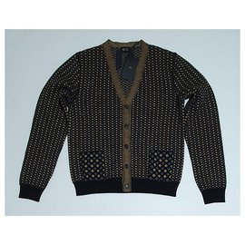 No 21-Sweaters-Brown,Multiple colors