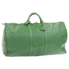 Louis Vuitton-Louis Vuitton Keepall-Green