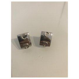 Dior-Boucles d'oreilles-Bijouterie argentée