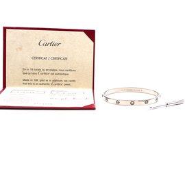 Cartier-cartier 18K 750 Love Bangle Screw System Size 21-Silvery