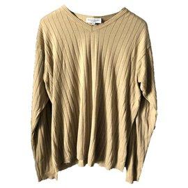 Yves Saint Laurent-Yves Saint Laurent beige pullover, Good as new-Beige