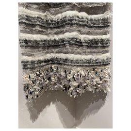 Chanel-Dresses-Silvery,Grey