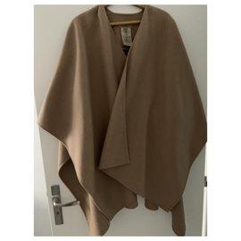 Burberry-Coats, Outerwear-Light brown
