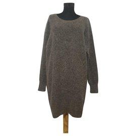 Acne-Knitwear-Brown