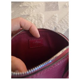 Louis Vuitton-bb alma nano-Red