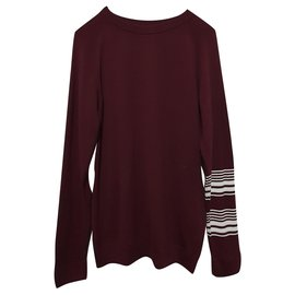 Wood Wood-Knitwear-Other,Dark red