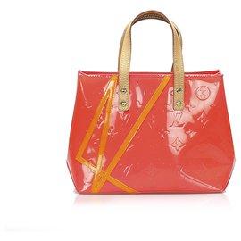 Louis Vuitton-Louis Vuitton Pink Vernis Robert Wilson Reade PM-Pink,Multiple colors