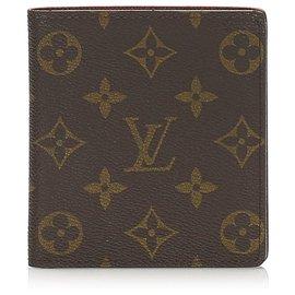 Louis Vuitton-Louis Vuitton Brown Monogram Coin Pouch-Brown