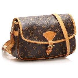 Louis Vuitton-Louis Vuitton Brown Monogram Sologne-Brown