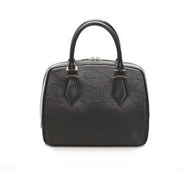 Louis Vuitton-Louis Vuitton Black Epi Sablons-Black