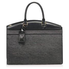 Louis Vuitton-Louis Vuitton Black Epi Riviera-Black