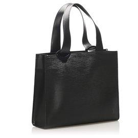 Louis Vuitton-Louis Vuitton Black Epi Gemeaux-Black