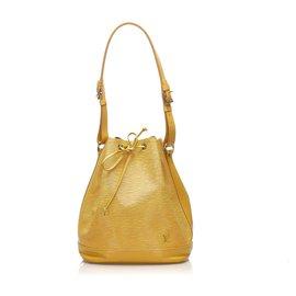 Louis Vuitton-Louis Vuitton Yellow Epi Noe-Yellow