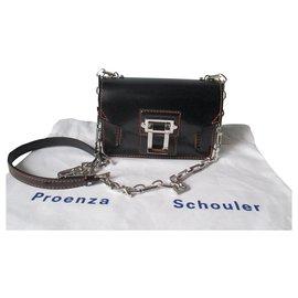 Proenza Schouler-HAVA Mini Crossbody-Black