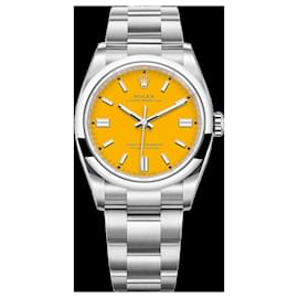 Rolex-Rolex Oyster Perpetual 36 Watch: Oystersteel - M126000-0004-Yellow