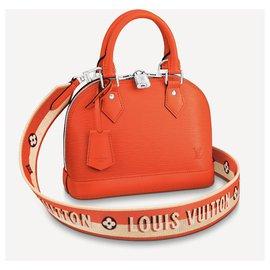 Louis Vuitton-LV Alma epi leather orange-Orange