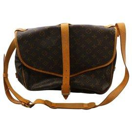 Louis Vuitton-Louis Vuitton Saumur 30-Brown