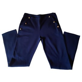 Pinko-Pants-Navy blue