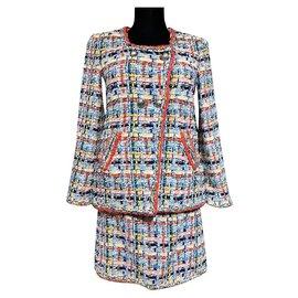 Chanel-14K$ NEW lesage tweed suit-Multiple colors