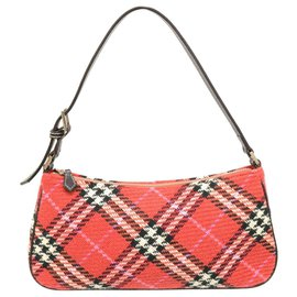 Burberry-Burberry handbag-Red