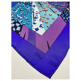 Dior-Foulard DIOR multicolore-Multicolore