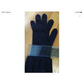 Chanel-Chanel gloves-Blue