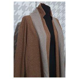 Fabiana Filippi-Knitwear-Brown,Grey